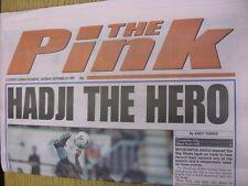 25/09/1999 COVENTRY evening Telegraph il rosa: principali titolo recita: HADJI l'H