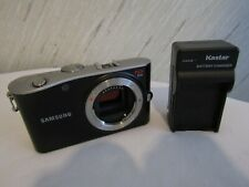 Samsung  NX100 14.6MP Digital Camera Black BODY ONLY  Generic Charger / USED