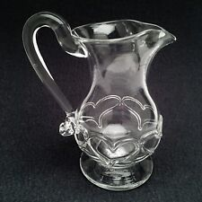 Art Reed Signed & Dated 1996 Glass Pitcher with Hearts