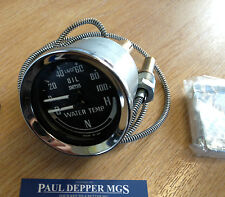 MG MGB GT Smiths Dual Gauge 1969-1976 Water/ Oil Temperature Gauge BHA4900