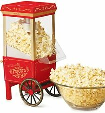 Nostalgia OFP-501 Old Fashioned Popcorn Machine Maker Popper Hot Air 12 Cup, Red