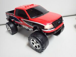"1998 Toy State Road Rippers 16"" Ford F150 Sounds & Lights Plays ""Charge"" VIDEO"