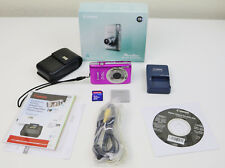 Canon Powershot ELPH 100 HS 12.1MP Pink Digital Camera Tested Working