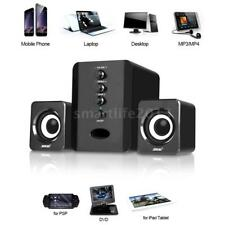 USB Wired Computer Speakers Stereo Bass Subwoofer Soundbox for Desktop Laptop PC