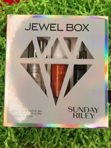 SUNDAY RILEY Jewel Box Set: Good Genes+CEO+Luna Deluxe Travel Size - NEW in Box!