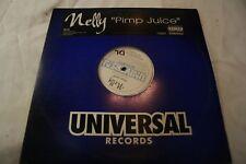 "NELLY ""PIMP JUICE"" HIPHOP 12"" PROMO VINYL 2003 UNIVERSAL RECORDS"