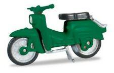Vélomoteur  Simson KR 51/1 vert - Herpa - Echelle 1/87 (Ho)