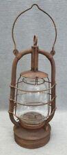 Alte Fledermaus Petroleumlampe 2850 6 D.R.Patente antik old BAT kerosene lamp