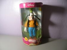 Disney's Goofy 25 Year Brass Key Porcelain Doll New In Box