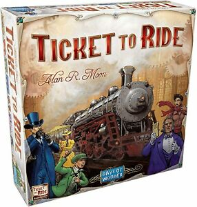 Ticket to Ride Days of Wonder BASE Board Game US edition Family Party Gift OZ