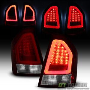 2005-2007 Chrysler 300C Red Lumileds LED Tube Tail Lights Brake Lamps Left+Right
