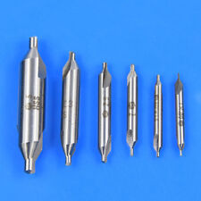 6piece Combined HSS Center Drill Countersink Drills Bit Milling Tackle UK STOCK