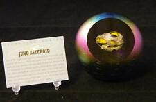 Juno Asteroid Paperweight Glass Eye Studio Celestial Series Art Decor New 493F