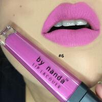 1 x Lippenstift wasserfest Lippenpflege Moisture Liquid Lipgloss Sexy Makeup #06