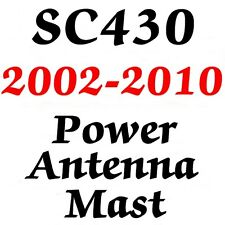 LEXUS SC430 POWER ANTENNA MAST Brand New Stainless Steel + Instructions