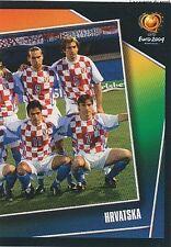 N°157 TEAM EQUIPE SQUADRA 2/2 # CROATIA STICKER VIGNETTE PANINI EURO 2004