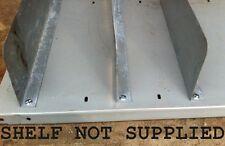 USED BOSAL STEEL SHELF DIVIDER - £1.00 EACH + VAT (SHELVING / PALLET RACKING )