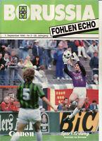BL 90/91 Borussia Mönchengladbach - 1. FC Köln, 01.09.1990