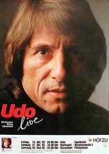 UDO JÜRGENS Konzertplakat von 1982