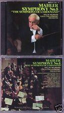 Vaclav NEUMANN: MAHLER Symphony No.8 Benackova Inge Nielsen Moser DENON 2CD
