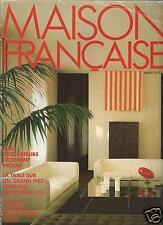 Maison Francaise Magazine Mars 1984 French