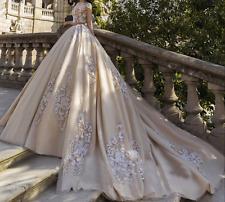 New White/ivory Wedding dress Bridal Gown custom size 6-8-10-12-14-16 +18+