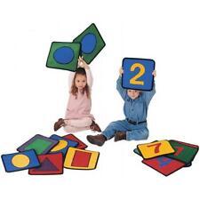 Carpets For Kids 920 Shape/Number Squares - Set of 20