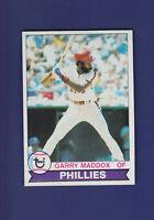 Garry Maddox 1979 TOPPS Baseball #470 (NM+) Philadelphia Phillies
