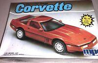 NEW 1/25 MPC Chevrolet Corvette Coupe 2 In 1 Car Model Kit Sealed #6402 1986 VTG