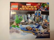 LEGO Instruction Notice Marvel Super Heroes Hulk's Helicarrier Breakout (6868)