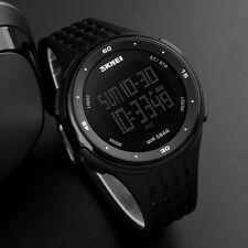 SKMEI Watch Sport Quartz Wrist Men Mens Analog Digital Waterproof Military Black