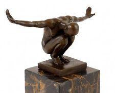 Bronzefigur - Mister Universum - signiert Milo