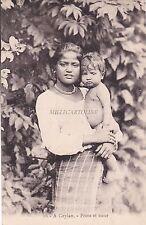 CEYLON - Frere et soeur 1938