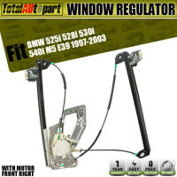 Window Regulator With Motor for BMW E39 525i 528i 530i 540i M5 Front Passenger