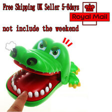 New Crocodile Mouth Dentist Bite Finger Game Funny Family Toy Gift For Kids