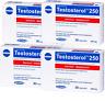4x TESTOSTEROL 250 Megabol Testosteron Booster 60 Kaps Probolan Testo Anabole