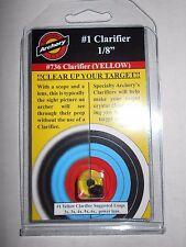"@NEW@ 2017 Specialty Archery 1/8"" Peep Sight Clarifier Lens #1 Yellow! #736"