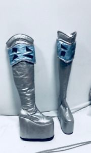 Ace Frehley Dynasty boots made to individual measurements/ Ace Frehley Dynasty