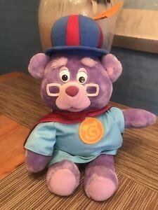 Zummi Gummi Bear 1985 15 Inches Tall Plush Teddy Toy