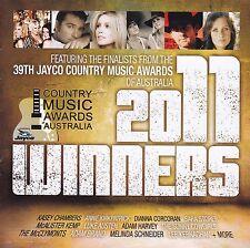 WINNERS 2011 CD - Jayco Country Music Award of Australia - 2 Discs