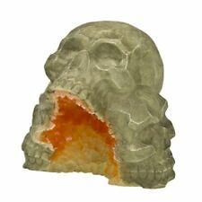LM Exotic Environments Skull Mountain Geode Stone Aquarium Ornament