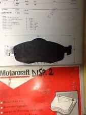FORD COUGAR MONDEO SCORPIO DAL 1993 SERIE PASTIGLIE FRENI ANTERIORI WVA 21638