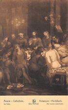 BR44580 La cene Cathedrale Anvers paint peintures belgium