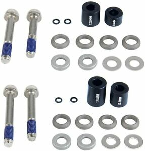 SRAM / Avid Post Spacer Set Stainless Caliper Mounting Bolts (CPS and Standard)