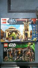 Lego Star Wars Jabba's Palace 9516 & rencor Pit 75005