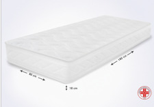 MiaSuite Smart h 18 80x190cm Materasso Singolo WaterFoam - Bianco