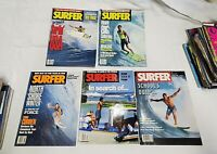 SURFER MAGAZINE 1991 VOL.32 SEPT, JULY, MAY, APRIL AND MARCH (5) ISSUES