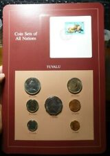 Coin Sets of All Nations Tuvalu 1985 UNC $1,50,20,10,5,2,1 cents