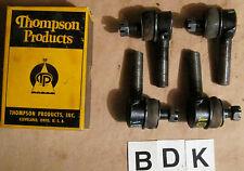 1940 Studebaker 4 Tie Rod Ends ~ Studebaker Part# 199214 & 199215 ~ ES-108 R & L