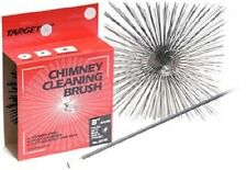 """Target 8"""" Round Wire Chimney Cleaning Brush For Ceramic Flues & Chimneys 30800"""